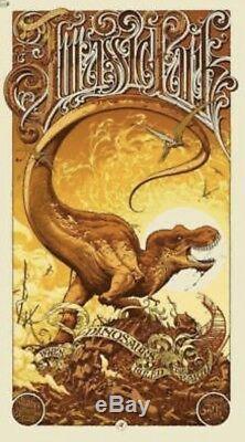 Aaron Horkey Jurassic Park Edition Osprey Mondo 2011 Rare Ap Signé