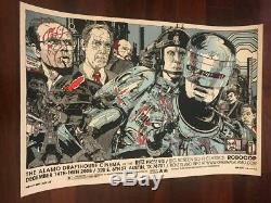 Affiche D'art De Tyler Stout Mondo Robocop Signée Aaron Horkey Shepard Fairey
