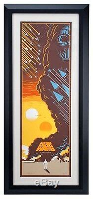 Affiche D'art Eric Eric Mondo Star Wars Une Nouvelle Espérance