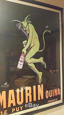 Affiche Encadrée Vintage Maurin Quina De Leonetto Cappiello 1906 French Liquor