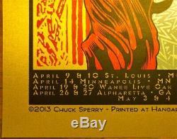 Affiche Généralisée De Panique Chuck Sperry Springlady Rare Variante Ed Of 15 No Reserve