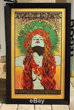 Affiche Généralisée De Panique Printemps Tour'13 Printemps Lady Chuck Sperry No Reserve