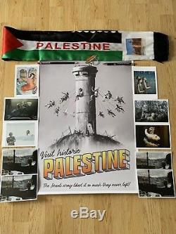 Affiche Originale De Banksy En Palestine, Seulement 2000, Produite Exclusivement Pour Le Ldn Expo