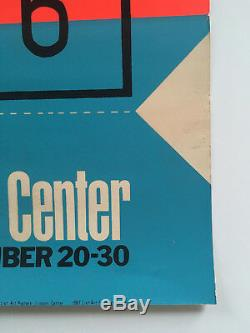 Andy Warhol 1967 Billet De New York Film Festival De Lincoln Center Affiche Sérigraphiée