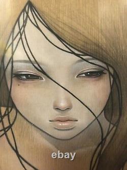 Audrey Kawasaki Kazamachi Giclee Art Print Signé 24x24 2009 136/150