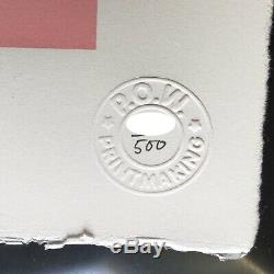 Authentique Banksy Grannies Limited Edition Écran Imprimer Pow Pest Control