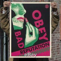 Bad Reputation Set Cream + Black Imprimé Signé Et Numéroté Le350 Confmed