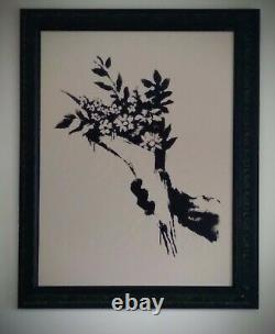 Banksy Authentic Gdp Thrower Sérigraphie