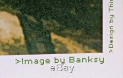 Banksy Authentique Enregistrer Ou Supprimer Rare Affiche