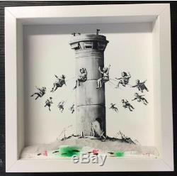 Banksy Coffret Muré Hôtel. S'il Vous Plaît Vérifier Les Informations Sur L'annonce, La Réception