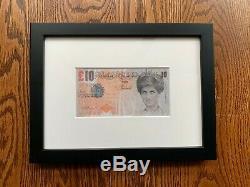 Banksy DI Faced Tenner Coa Steve Lazarides Art Imprimer Pib Produit Intérieur Brut