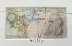Banksy Di-face Tenner Steve Lazarides Coa- Encadré- Lithographie Originale