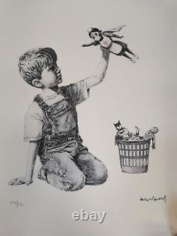 Banksy Game Changer 2020 Édition Cao 131/150 Dismaland Kaws