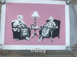 Banksy Grannies Limited Edition Print Prisonnier De Guerre