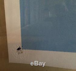 Banksy Jack & Jill / Police Enfants Signed Imprimer L'écran Avec Coa
