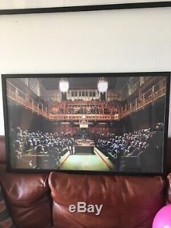 Banksy Monkey Parliament, Original De 2009, Achat Du Musée Bristol