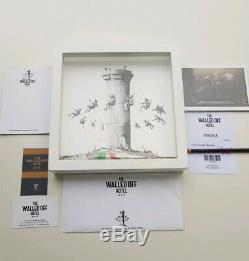 Banksy Muré Hôtel Box Set + Authentification & Extras