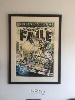Banksy Obéit À L'envahisseur Dface Dolk Stik Dran