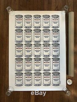 Banksy Original Print 2004 Soupe À La Crème De Tomates Tesco Value 2004