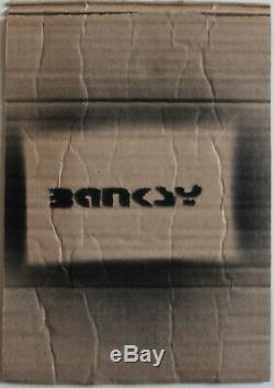 Banksy Originale Stencil Dismaland Graffiti