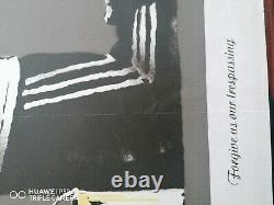 Banksy Pardonnez-nous Pour Are Trespass