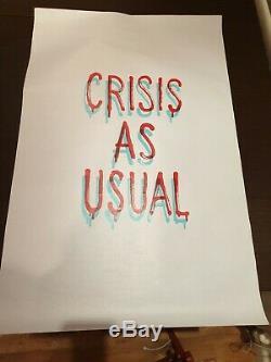 Banksy Produit Intérieur Brut Crise Quo Ltd. Ed. Imprimer (77 X 50cm)