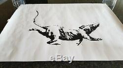 Banksy Produit Intérieur Brut Croydon Rat Poster Art Pib Imprimer Véritable Banksy