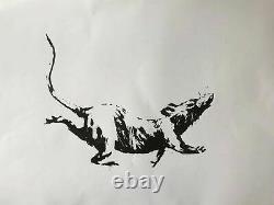 Banksy Rue Blek Le Rat D'origine Produit Intérieur Brut Dismaland Muré