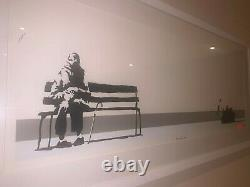 Banksy Signé Weston Super Mare Early & Very Rare Limited Edition Print