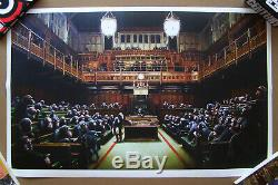 Banksy Singe Parlement Parlement / Déconcentrée Imprimer Produit Intérieur Brut