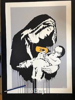 Banksy Toxic Mary. Relistez Copie Originale Non Signée Et Numérotée De Pow