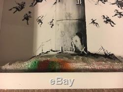 Banksy Walled Off Hôtel Box Set Art D'impression Bethléem Avec Reçu D'origine