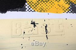 Bast Limonata Hand Finished Signed Imprimer Art De La Rue Faile Lavage De Cerveau Obey Mbw