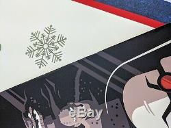 Batman La Série Animée Tom Whalen Btas Bng Mondo Art D'affiche De DC Régulier