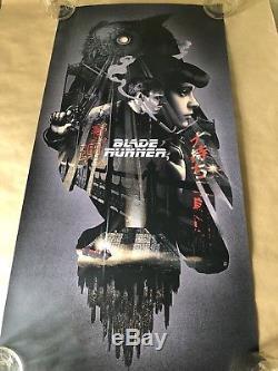 Blade Runner John Guydo Affiche Sérigraphie Numérotée À La Main De 200 Mondo Bng