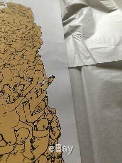 Blu Demos Print Signé Ed. 130 Bluwalls Banksy Pow Graffiti