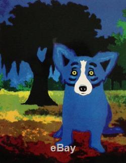 Blue Dog George Rodrigue Parc De La Nouvelle-orléans Faire Offre