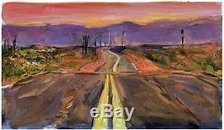 Bob Dylan'endless Highway 'grand Format, Sentiers Battus, Menthe Avec Certificat D'authenticité