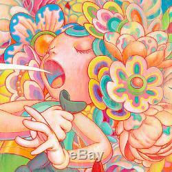 Bouquet Par James Jean Giclée Impression D'art Yeezy Takashi Murakami Dob Complexcon