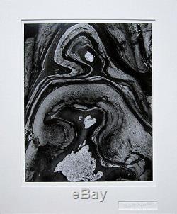 Brett Weston, Image Originale Abstraite De La Photographie Des Années 1970, Signée