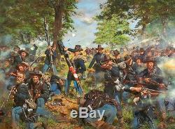 Chapeaux Noirs, 19e Brigade De Fer Indiana Regt À Gettysburg Don Troiani Imprimer