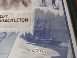 Chevalier Sir Ernest H Shackleton Explorateur De Bannière De Tour Du Pôle Sud