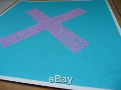 Chris Levine X'marks The Spot 'signed Print (photos De Banksy Martin Whatson Stik)
