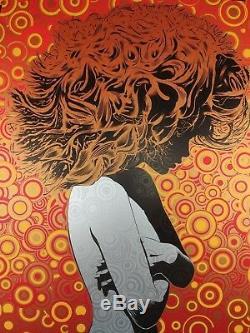 Chuck Sperry Panic Généralisé Riverside Theatre Affiche Milwaukee 2009 Signé Ap