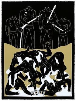 Cleon Peterson Le Jugement Du Génocide Kaws Obey Shepard Fairey Trump Print