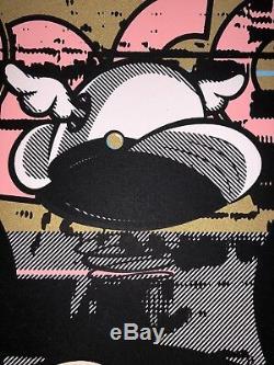 D Visage Pop-eye-con Provocateurs Édition Poster Obey Street Art
