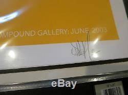 Dalek Print Compound Gallery Signé Édition Numérotée De 25