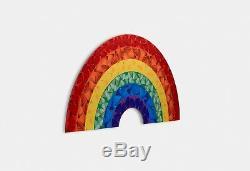 Damien Hirst Papillon Rainbow Heart Petite Heni Édition Limitée H7-2 Kaws Banksy