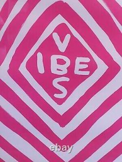 David Shrigley Vibes (2018) Ltd Edition Print Signé Rare