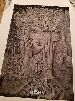 David Welker Divine Sorrow Impression D'art S / N # / 90 Giclée Mint Maze No Reserve